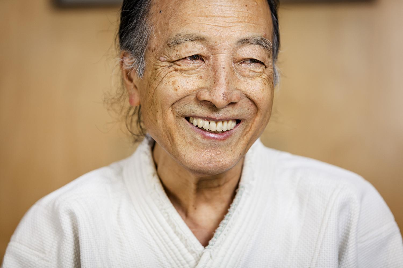 Sensei Smiling